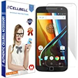 Cellbell Tempered Glass Screen Protector With Installation Kit For Moto G4 Plus