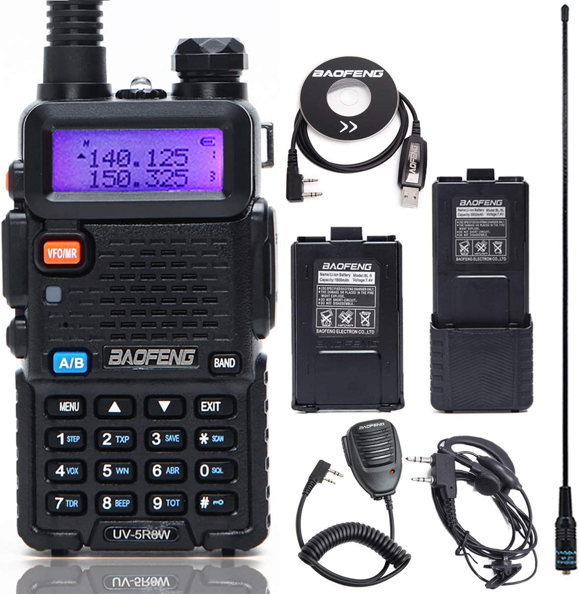 BaoFeng UV-5R Survival radio communication system