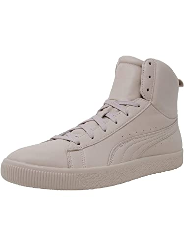 new concept 1cdeb 3d888 PUMA Mens Young & Reckless Clyde Mid Casual Sneakers,