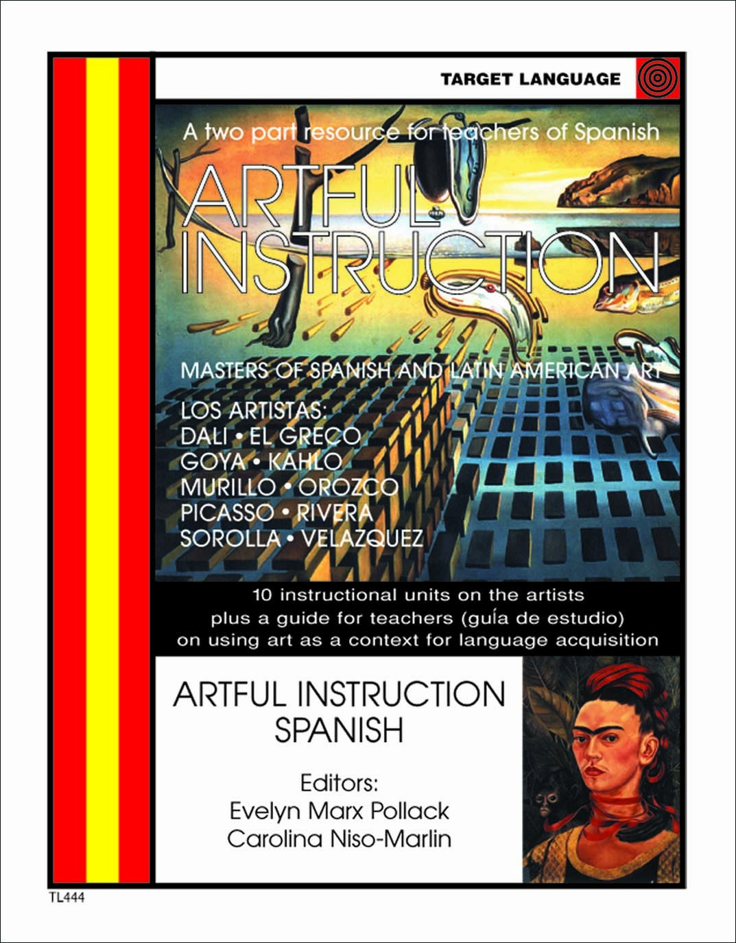 Artful Instruction Spanish (English and Spanish Edition