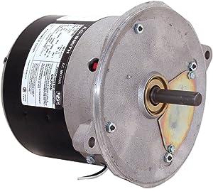 A.O. Smith EL2005 1/8 HP, 1725 RPM, 115 Volts, 48N Frame, Totally Enclosed, Sleeve Bearing, Reversible Rotation Oil Burner Motor