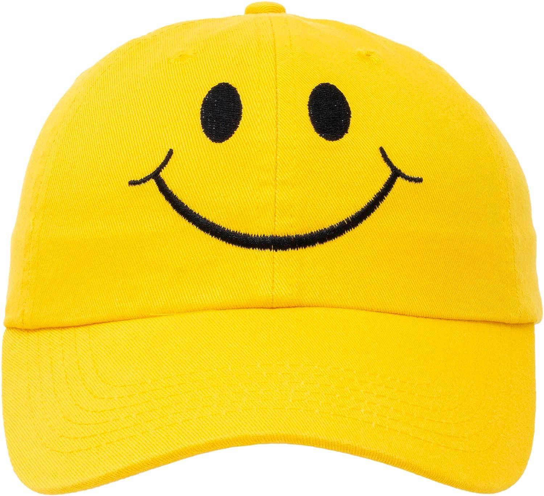 97a6d326ee29 Amazon.com  Ann Arbor T-shirt Co. Smiley Face Hat