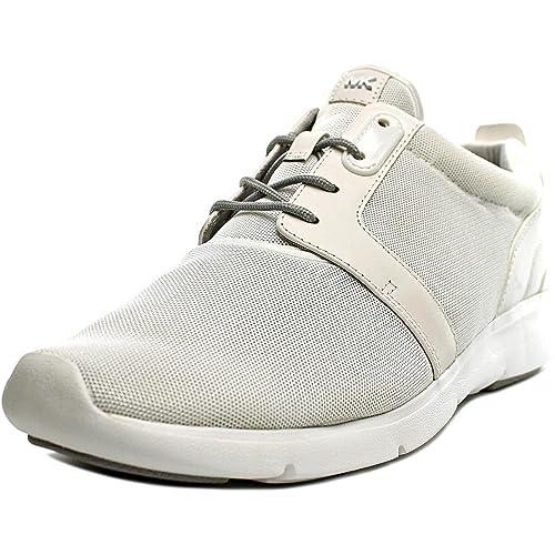 Michael Kors Amanda - Zapatillas para Mujer Blanco Blanco: Amazon.es: Zapatos y complementos