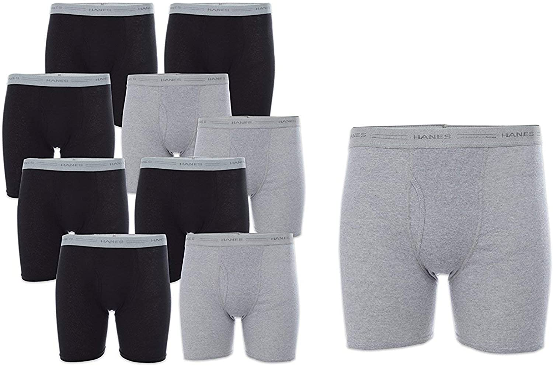 Hanes Men's Boxer Briefs with Comfort Flex Waistband