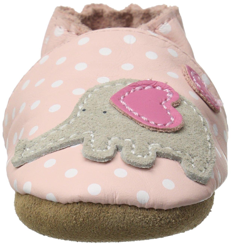 34e0580ab ... elástico hace que este zapato de bebé sea fácil de poner y mantener.  Consulte la tabla de tallas. Aprobado por la American Poditric Medical  Association