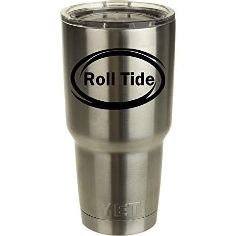 Amazon.com: Roll Tide Yeti Tumbler Calcomanía de Vinilo ...
