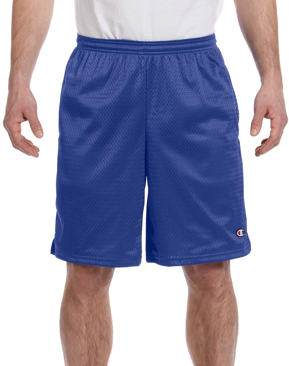 Champion Men's Extended Sizes Long Mesh Short with