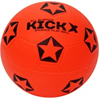 XXUMA Kick X Star Football Size 5 (Orange)