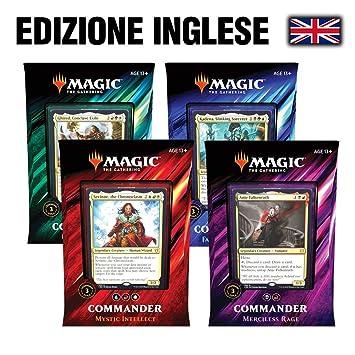 Magic The Gathering MTG: Commander 2019 - Set 4 Decks (Eng ...
