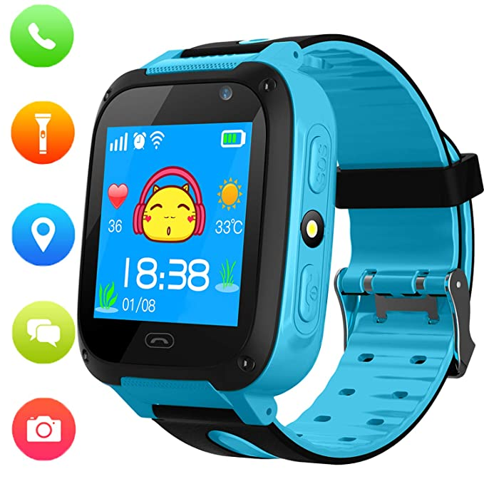 Able Bluetooth Smart Watch Children Watches Kids For Boys Girls Sport Student Wristwatch Led Digital Child Wrist Clock Smartwatch Watches