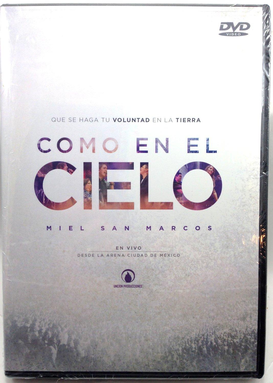 Dvd Como En El Cielo Miel San Marcos En Vivo: Amazon.es: Cine y ...