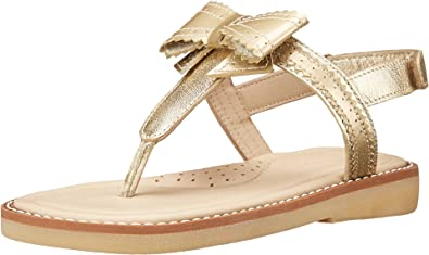 Elephantito Girls Lido Sandal (Toddler/Little Kid/Big Kid) Gold Sandal 11