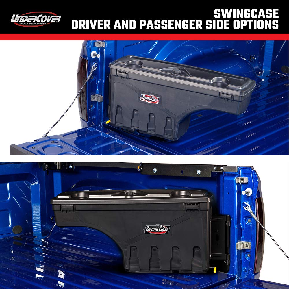 Fits 15-20 Ford F-150 Passenger Side SC203P Undercover SwingCase Truck Bed Storage Box
