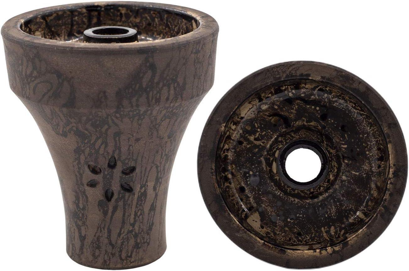 Shisha Solaris Phunnel - Cazoleta para cachimba (arcilla de alta calidad)