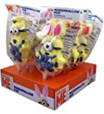 Despicable Me Minions Easter Bunny Marshmallow Pops, Pack of 12