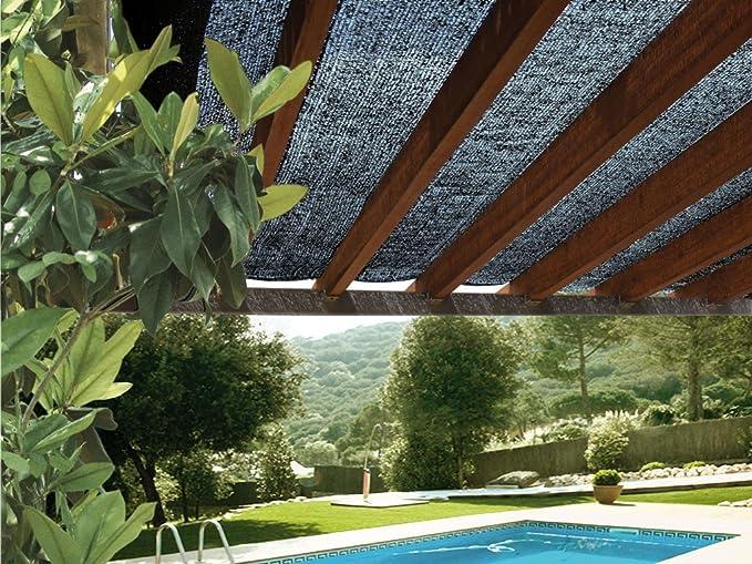 Desconocido 174042 - Malla Sombreadora Sun Net Negro: Amazon.es: Jardín