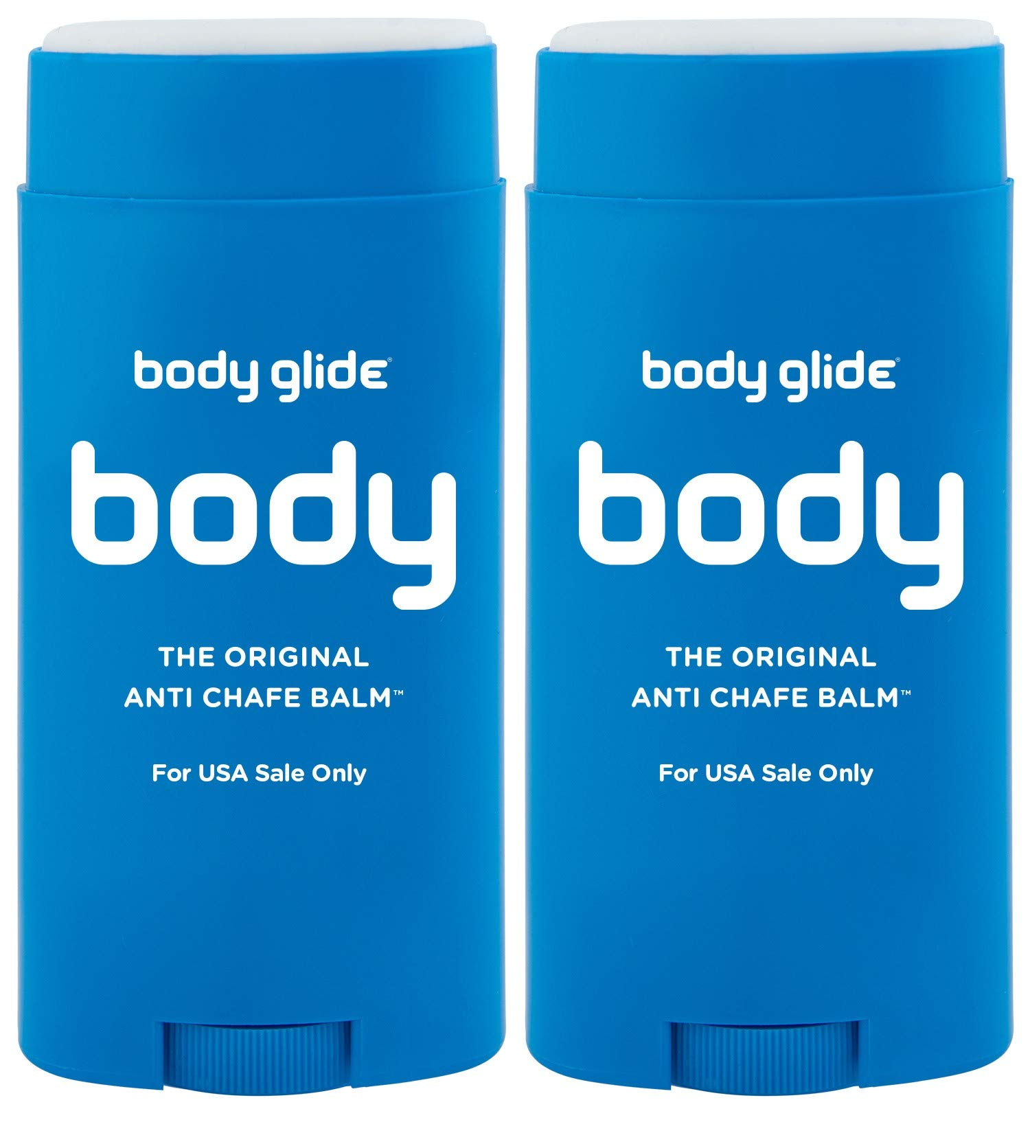 Body Glide Original Anti-Chafe Balm, 2.5oz, Pack of 2 by BodyGlide