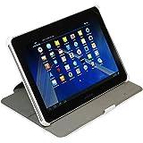 Custodia Ultra Sottile per Samsung Galaxy Tab 2 10.1 P5100/ P5110 con funzione di supporto e presentazione - Stilgut - bianco -