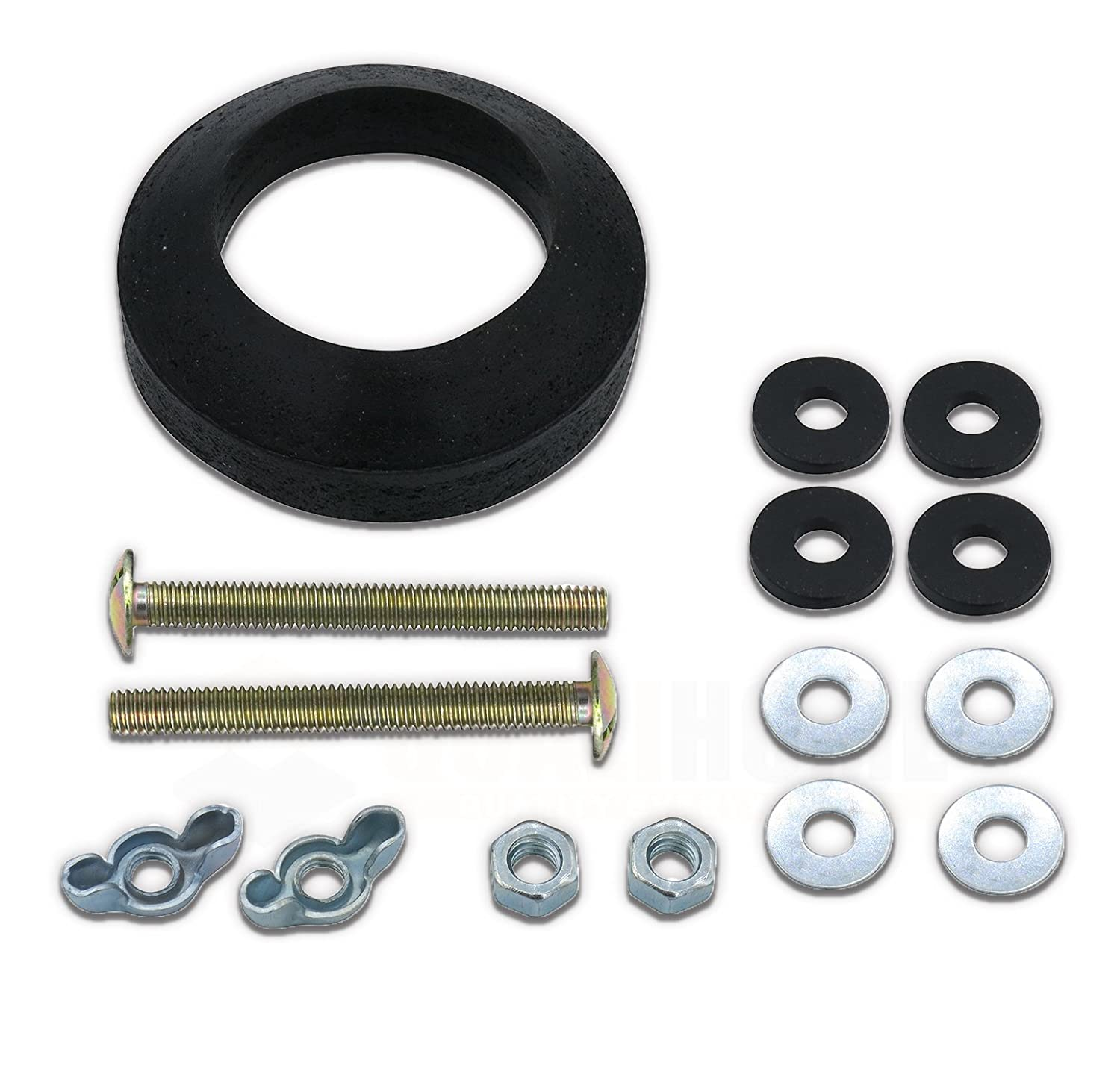 Tank to Bowl Bolts and Gasket Connection Kit for American Standard Qualihome