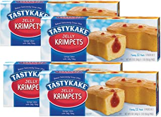 product image for Tastykake Butterscotch or Jelly Krimpets Family Size 12 Pack- A Philadelphia Baking Institution (Jelly Krimpets, 4 Pack)