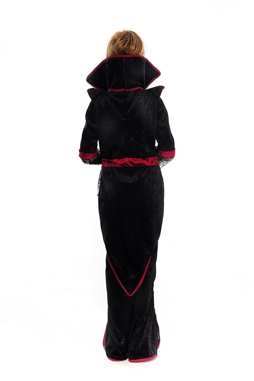 Amazon.com: Disfraz de vampiro real para niñas Deluxe Set ...