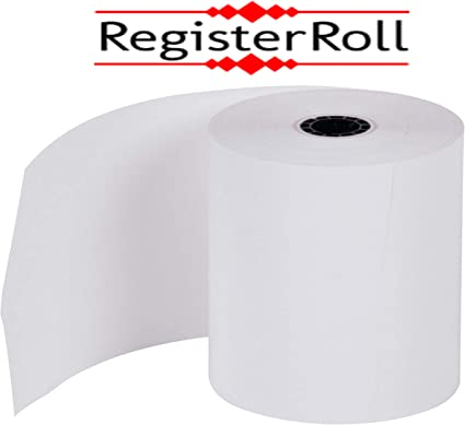 BPA Free Point-of-Sale Thermal Paper Rolls from REGISTERROLL 3 1 8 x 230 Thermal Receipt Paper pos Cash Register 50 Rolls