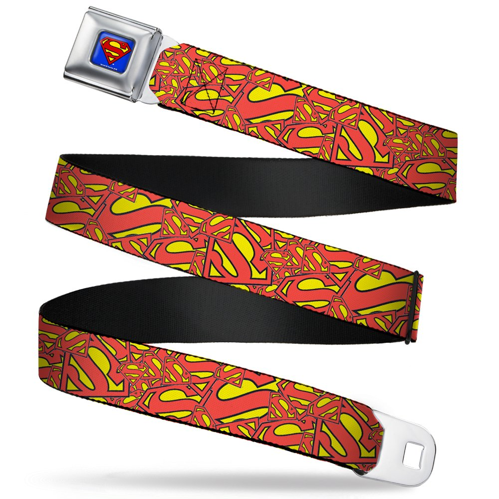 Buckle-Down Seatbelt Belt Superman Regular SMC-WSM018