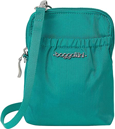 Baggallini Women s RFID Bryant Pouch, Dark Teal