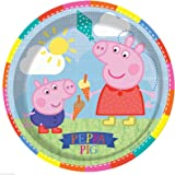 Peppa Pig Paper Plate – 9 Inches / 23cm - Pack of 8