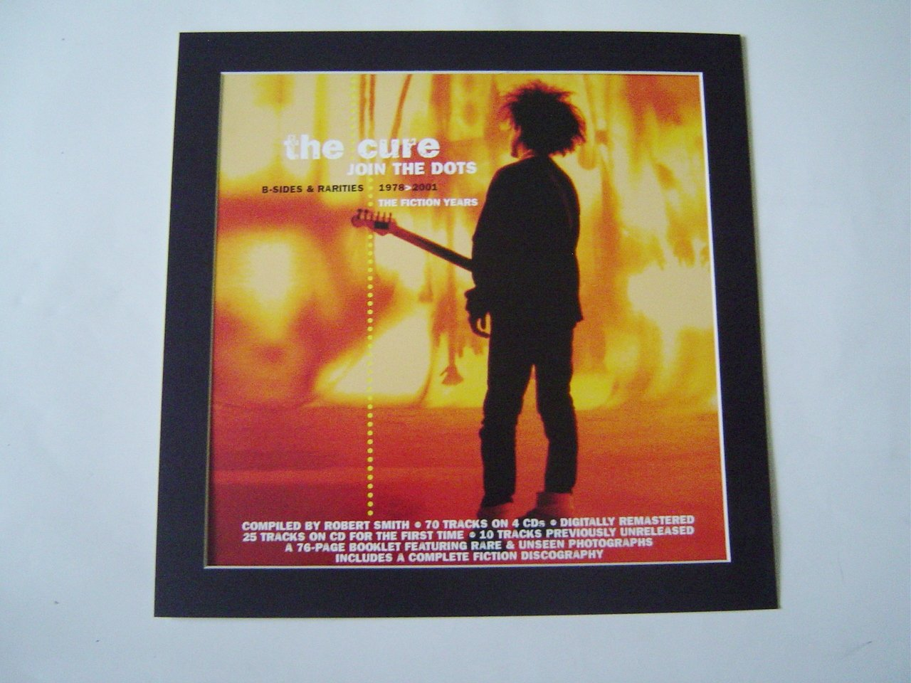 CURE JOIN THE DOTS POSTER IN A MOUNT READY TO FRAME: Amazon co uk