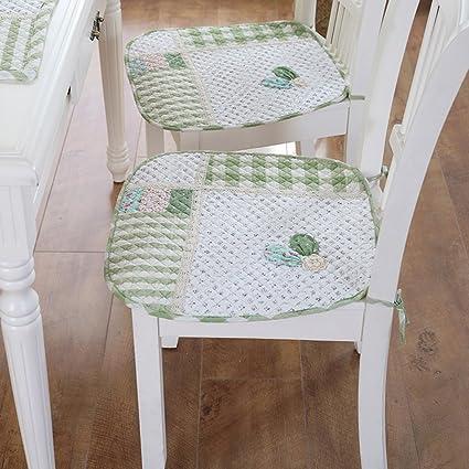 xinping Chair Pads Juego de 2 cojines para sillas de comedor y ...