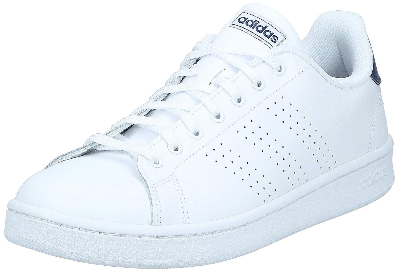 Advantage Ftwwht/Dkblue Tennis Shoes