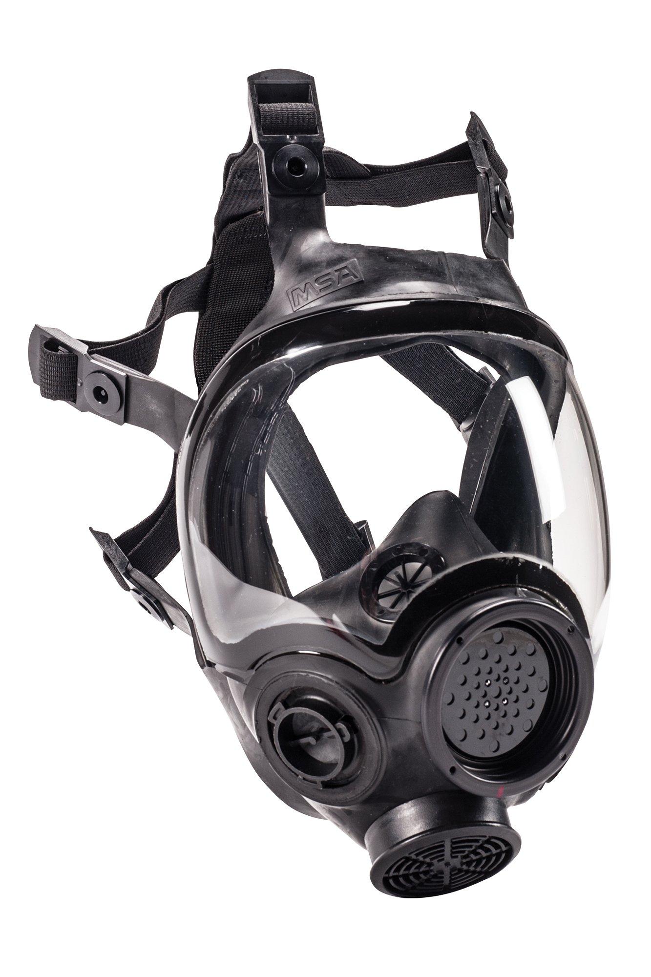 MSA Safety 805408 Hycar Rubber Advantage 1000 Full-Facepiece Respirator, Medium