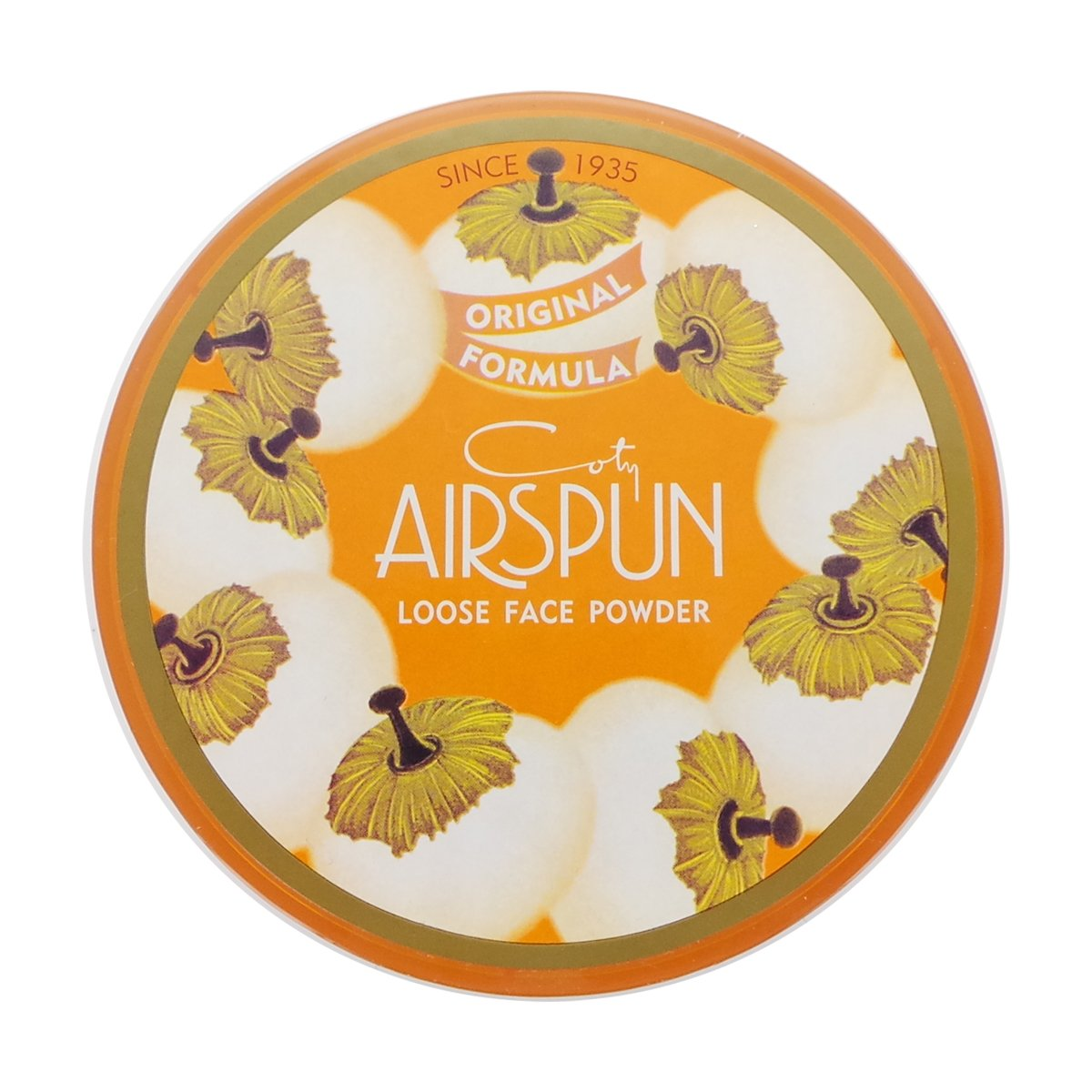(6 Pack) COTY Airspun Loose Face Powder - Rosey Beige