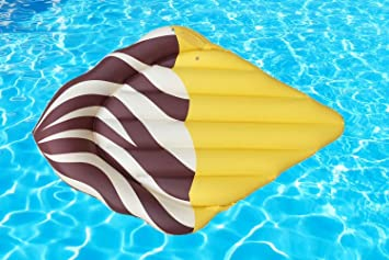 Beach Toy ® - Flotador hinchable para piscina HELADO DE CHOCOLATE. 180 X 120 cm: Amazon.es: Juguetes y juegos