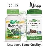 Nature's Way Licorice Root Capsules, 900 mg per