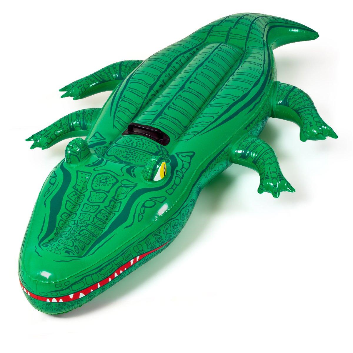 Flot. colchoneta cocodrilo 168x79cm: Amazon.es: Juguetes y ...