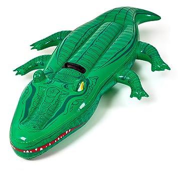 Flot. colchoneta cocodrilo 168x79cm: Amazon.es: Juguetes y juegos
