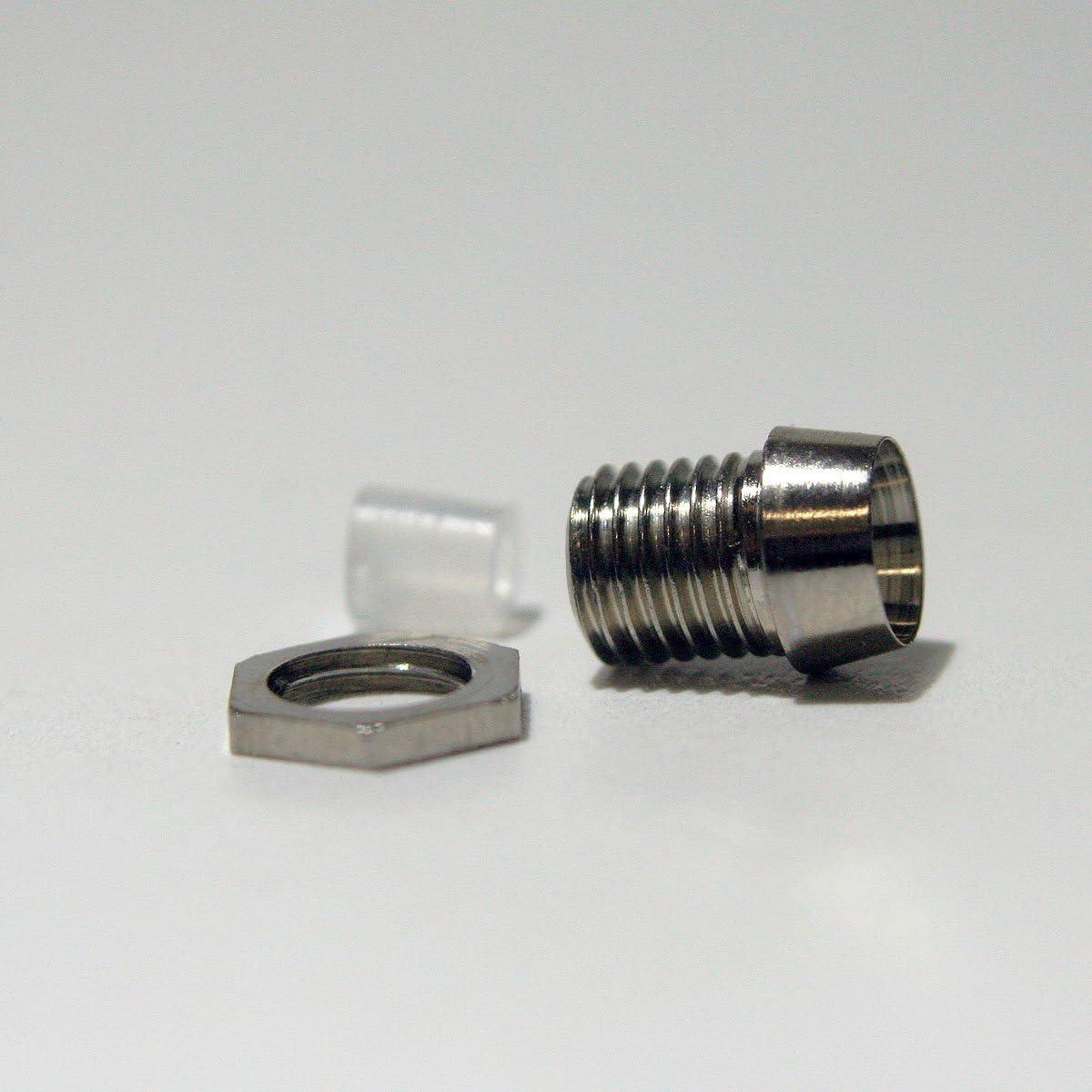 World Trading Net 10 Metallfassungen Schraube Für 3mm Elektronik