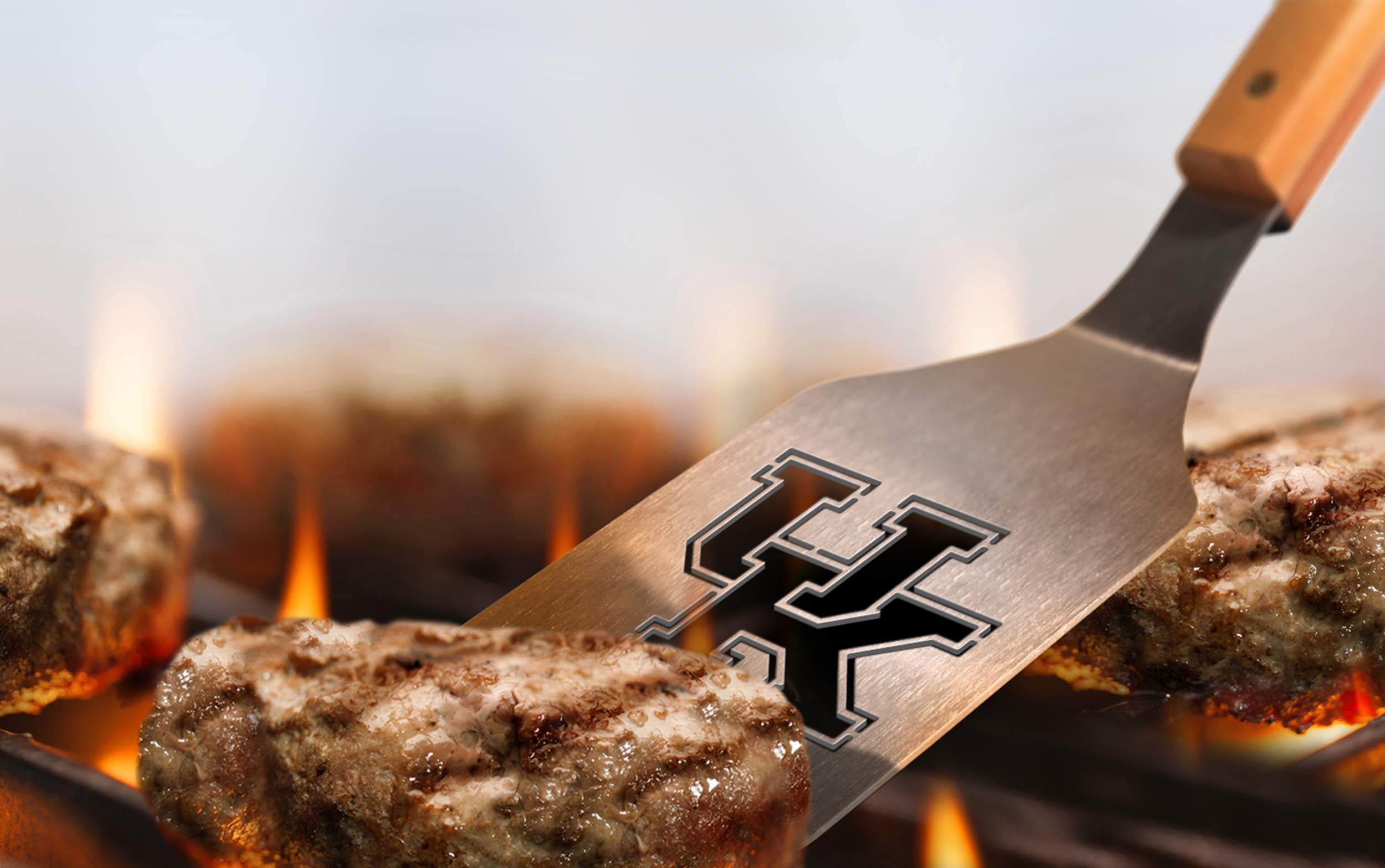 NCAA Kentucky Wildcats Classic Series Sportula Stainless Steel Grilling Spatula by YouTheFan (Image #4)