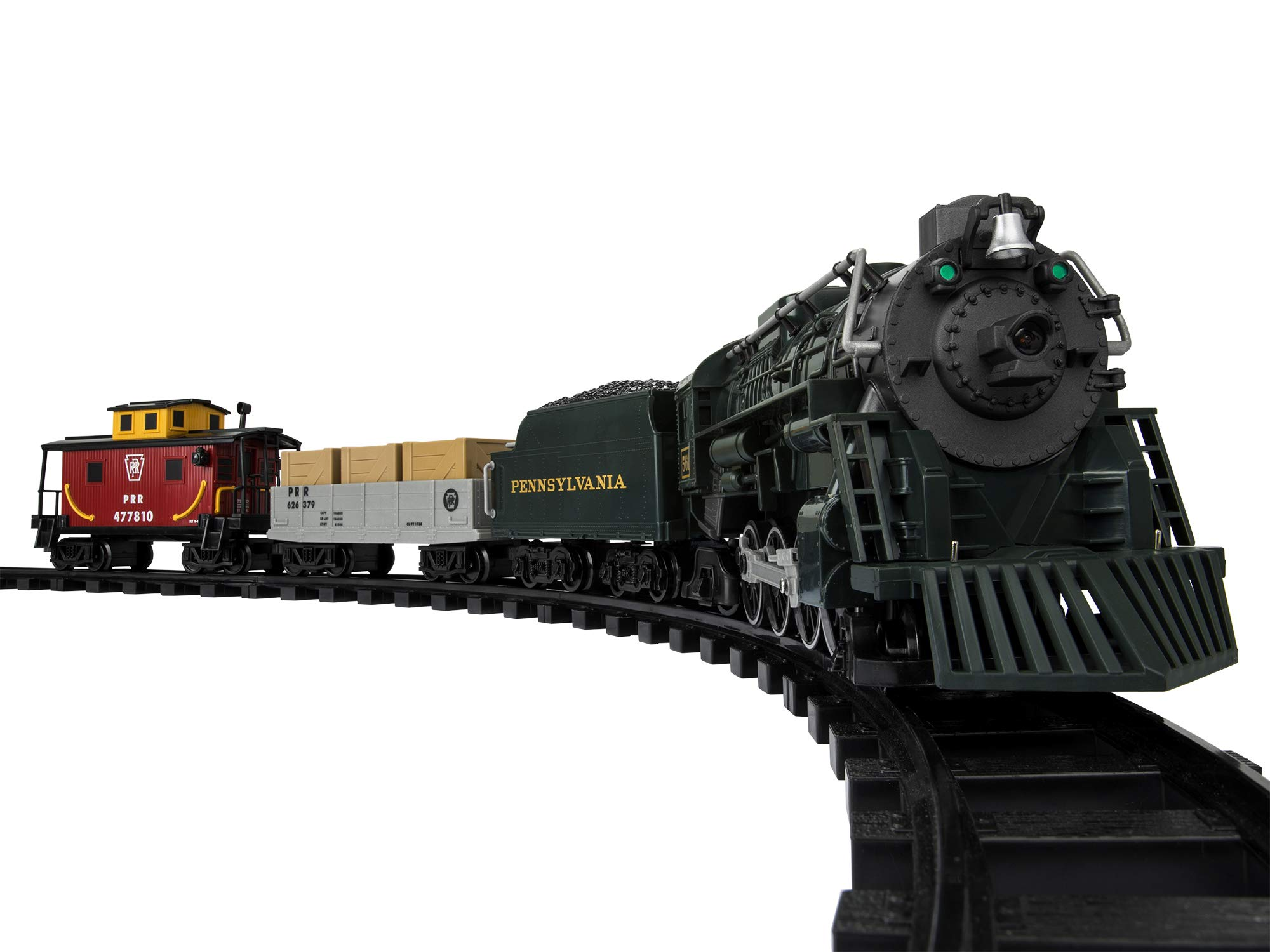 Lionel Pennsylvania Flyer Freight Ready-to-Play Set, Battery-powered Model Train with Remote