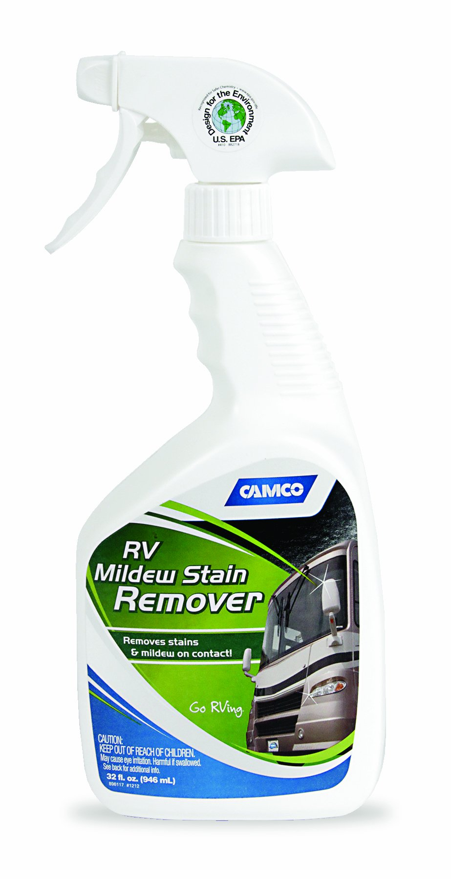 Camco 41092 Mildew Stain Remover - 32 oz by Camco