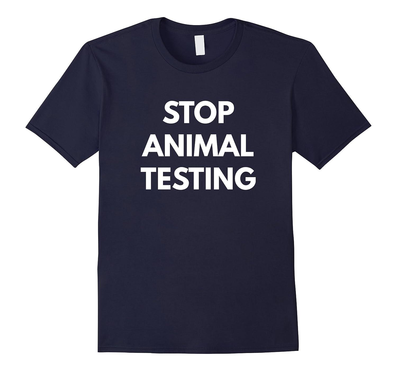 Stop Animal Testing t-shirt - Animal Activist Shirts-BN
