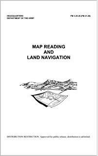Amazoncom US Army Map Reading And Land Navigation Manual FM - Us army map reading