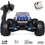 VCANNY Remote Control Car, Terrain RC Cars, Electric Remote Control Off Road Monster Truck, 1: 18 Scale 2.4Ghz Radio 4WD Fast