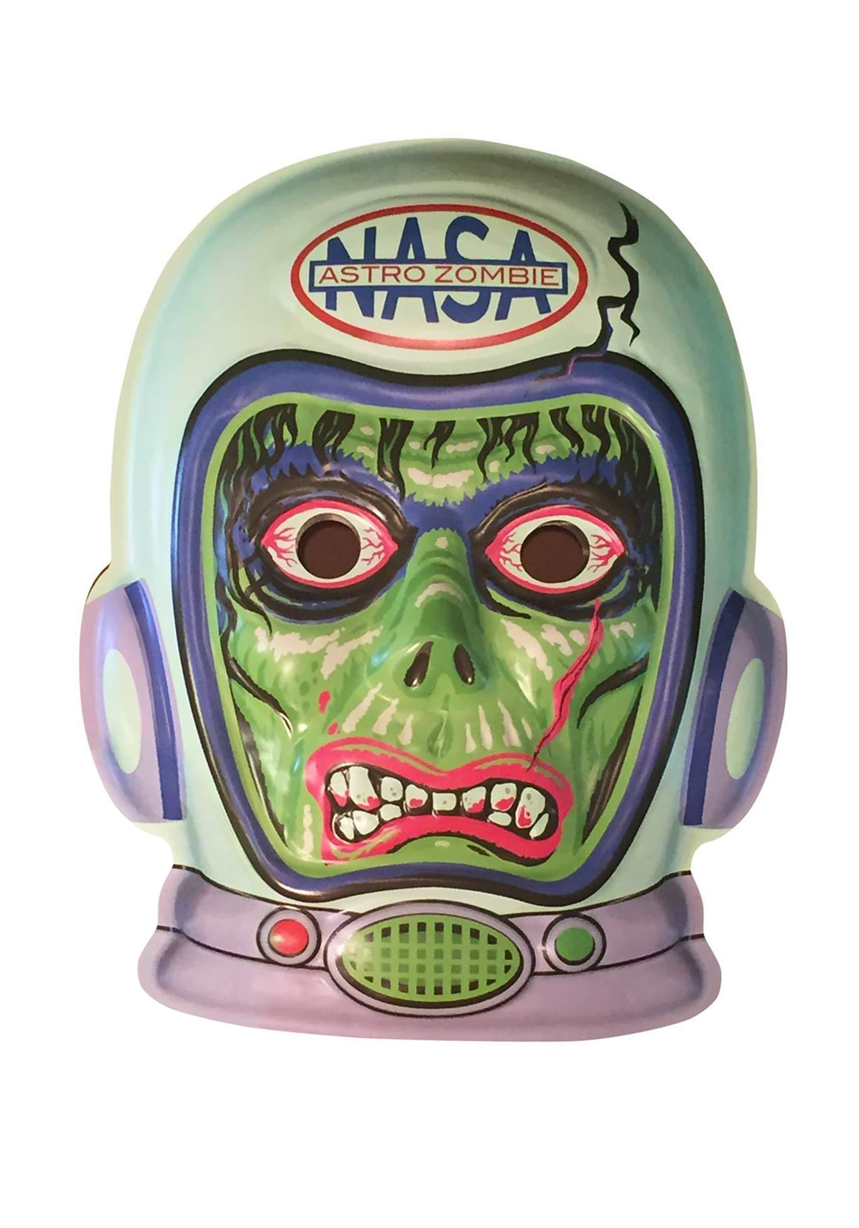 Retro-a-go-go! 4316 Radio Active Astro Zombie VAC-Tactic Plastic Mask Wall Decor by Retro-a-go-go!