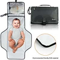 Becko Eco-friendly Water-proof Nappy Pad Clutch/Baby Nappy Changing Handbag Purse/Unisex Multi-functional Nappy Mat Bag
