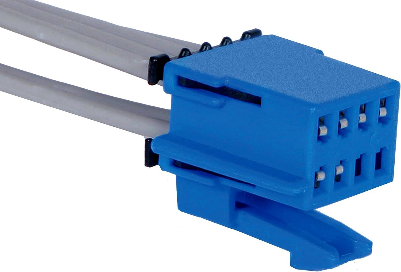 ACDelco PT266 GM Original Equipment 8-Way Female Blue Multi-Purpose Pigtail