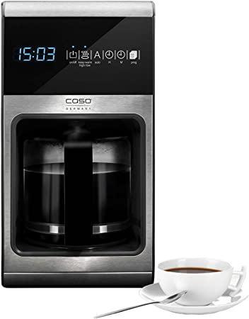 CASO Germany Coffee Maker, Black