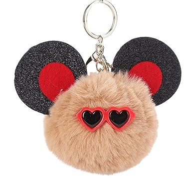 Amazon.com: youngate Mini linda forma de cabeza de mouse con ...